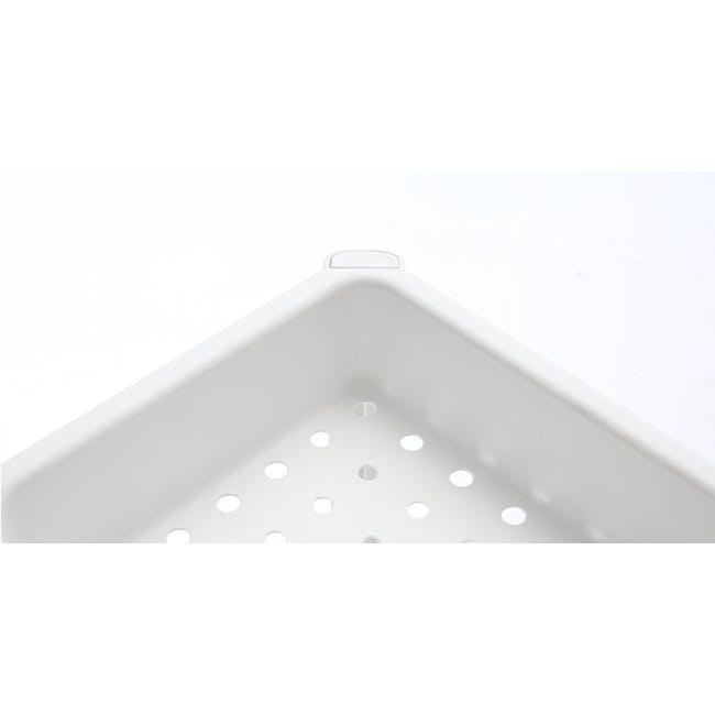Tessa 3 Tier Storage - White - 2