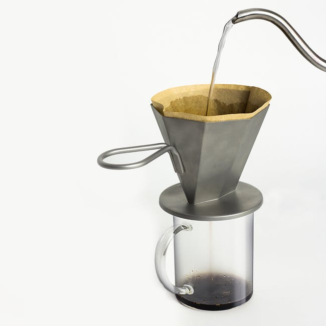 OMMO Gem Drip/ Pour Over Coffee Maker - 3