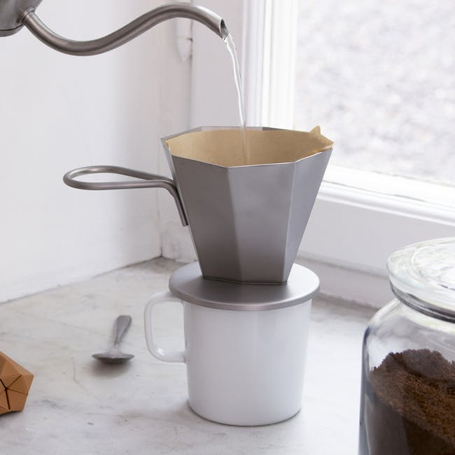 OMMO Gem Drip/ Pour Over Coffee Maker - 2