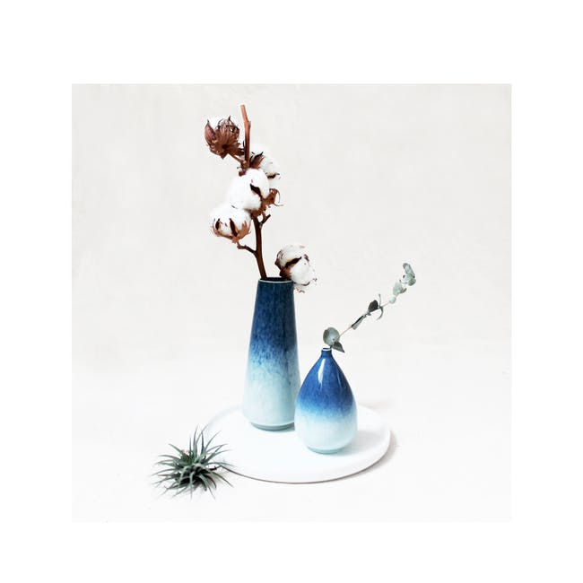 Galaxy Glaze Vase - Oval - 3