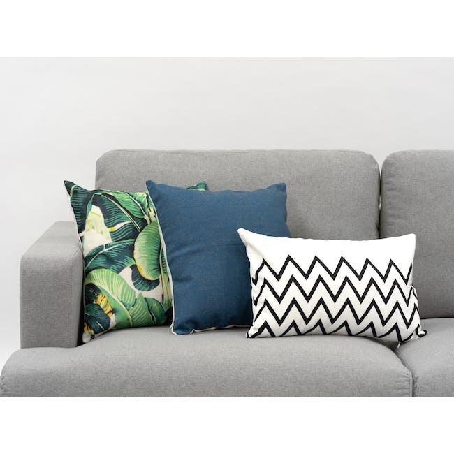 Throw Cushion Cover - Navy - 1
