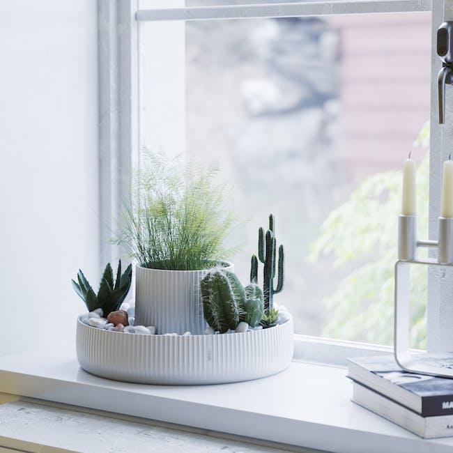 Fountain Ceramic Planter - White - 7