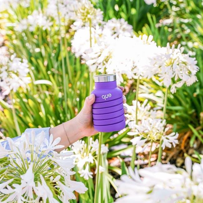 Que bottle - Purple - 2