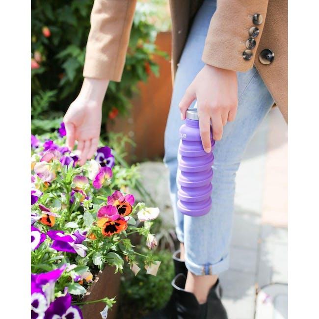 Que bottle - Purple - 1