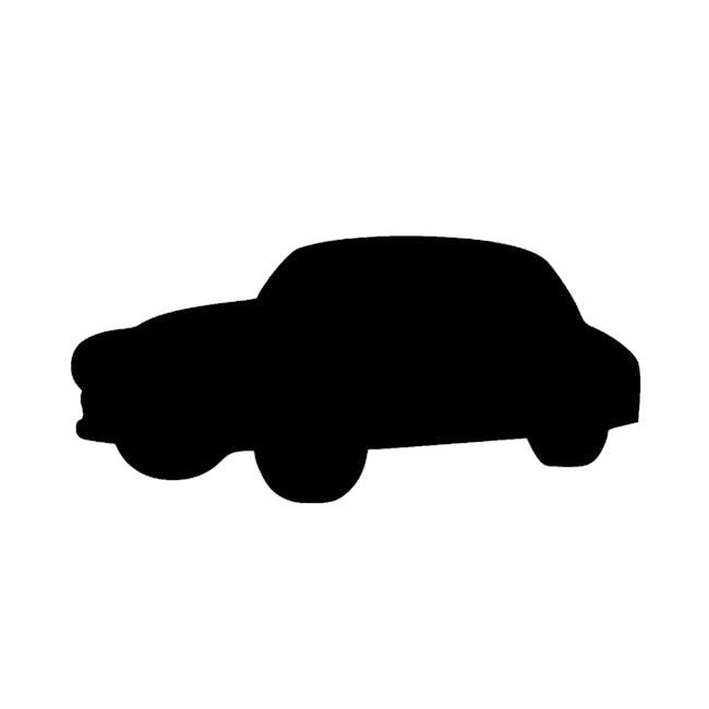 Securit Car-Shaped Chalkboard - 0