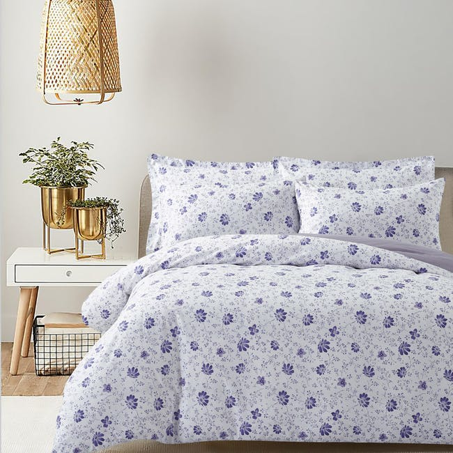 Marie Claire Lumine Cotton Printed Bed Set - Lisa (2 Sizes) - 0