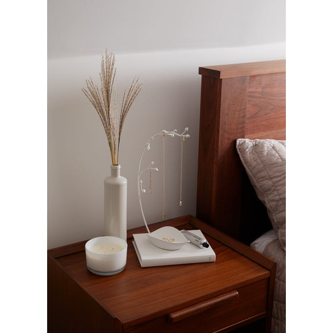 Orchid Decor Jewelry Stand - White - 2