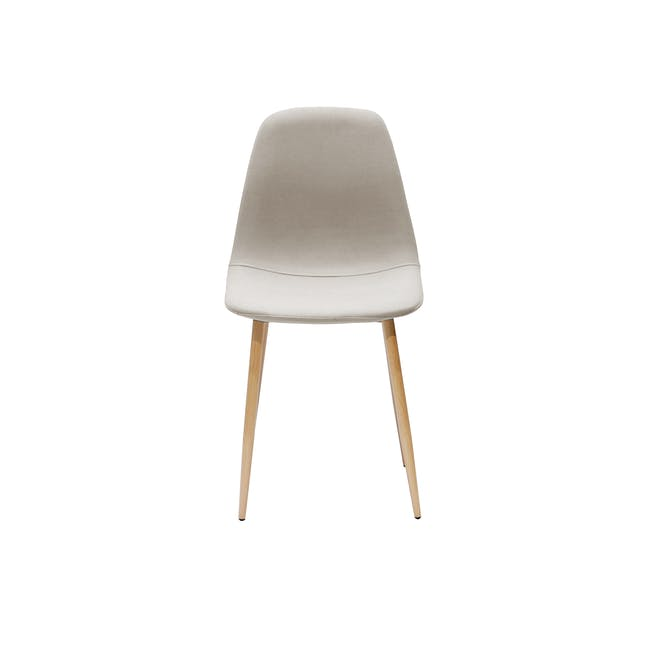 Finnley Dining Chair - Oak, Wheat Beige - 2