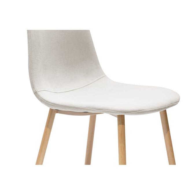 Finnley Dining Chair - Oak, Wheat Beige - 4