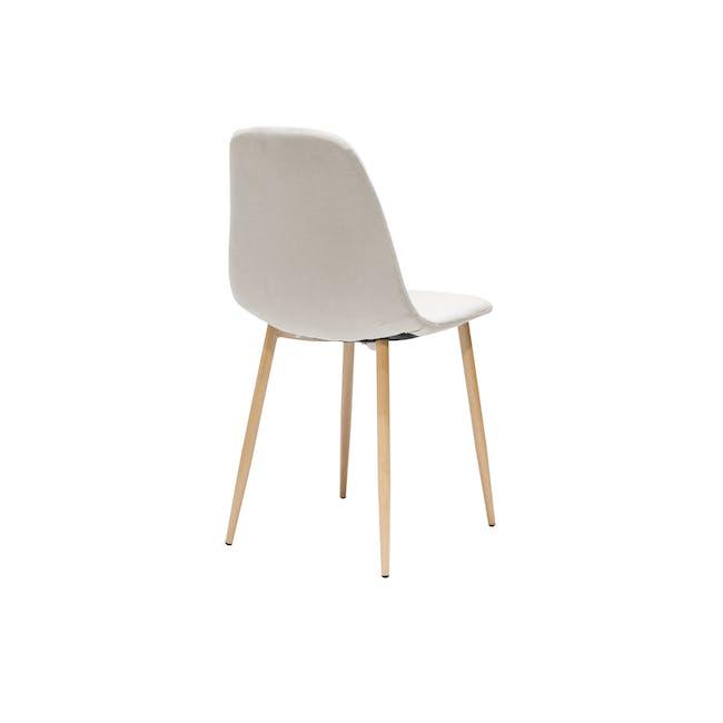 Finnley Dining Chair - Oak, Wheat Beige - 3