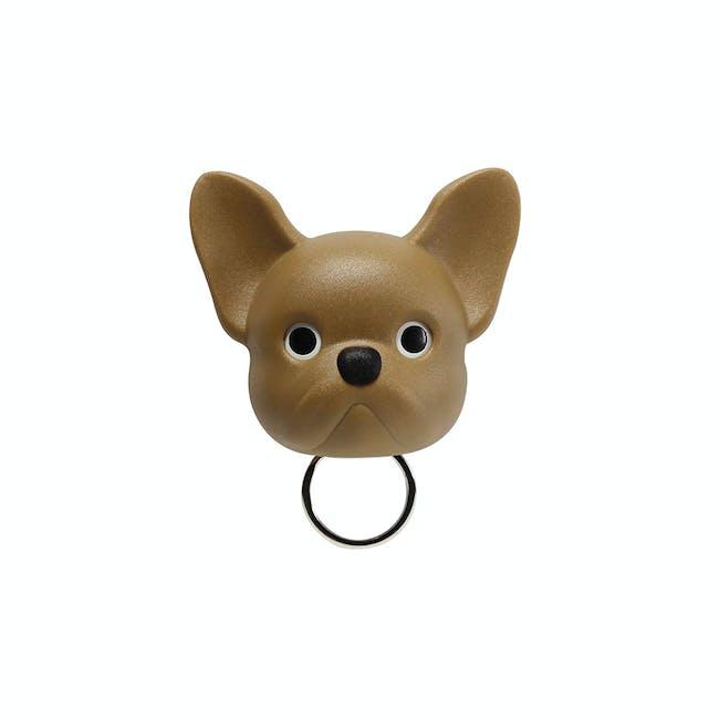 Frenchie Bulldog Key Holder - Brown - 0