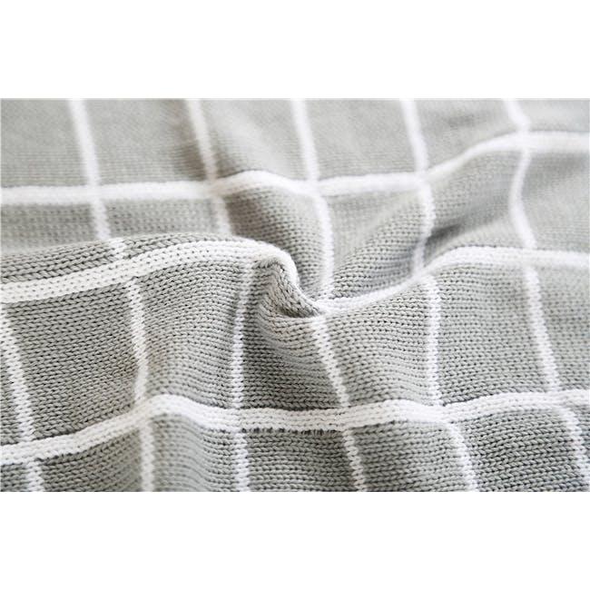 Scandi Throw Blanket 120 x 180 cm - Grey - 3
