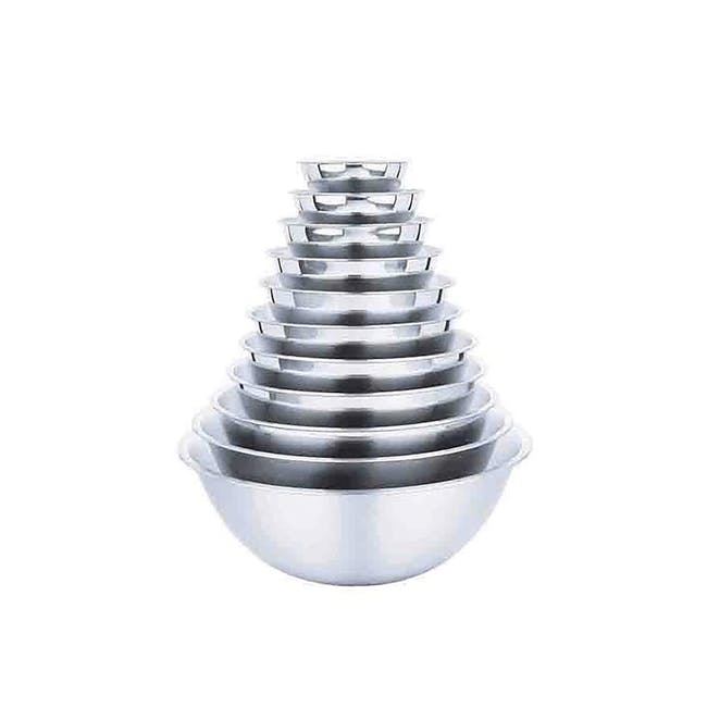 Zebra Stainless Steel Mixing Bowl (9 Sizes) - 1