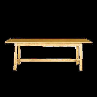 (As-is) Haynes Dining Table 2.2m - Oak - 1 - Image 2