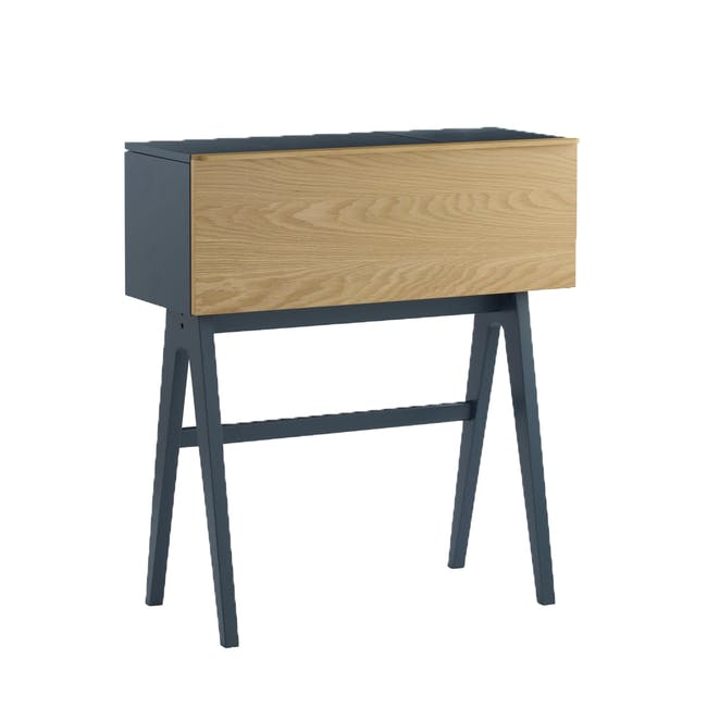 Valen Study Table - Space Blue - 6