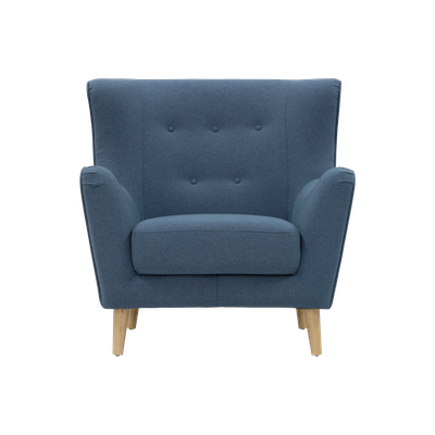 Jacob Armchair - Denim - Image 1