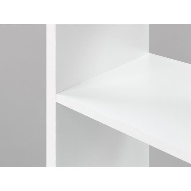 (As-is) Taina 4 Shelving Unit (Column) - White - 5 - 9