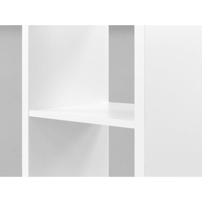 Taina 4 Shelving Unit (Column) - White - 1