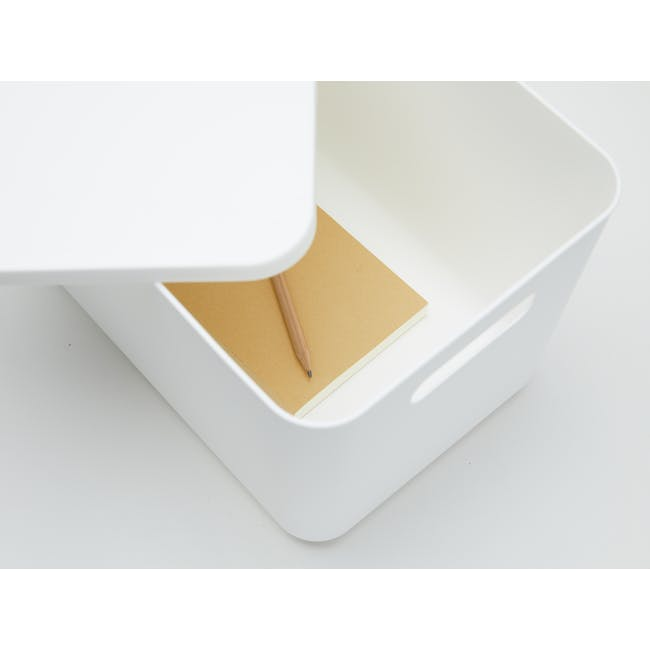 Lussa Storage Box with Lid - Large - 1