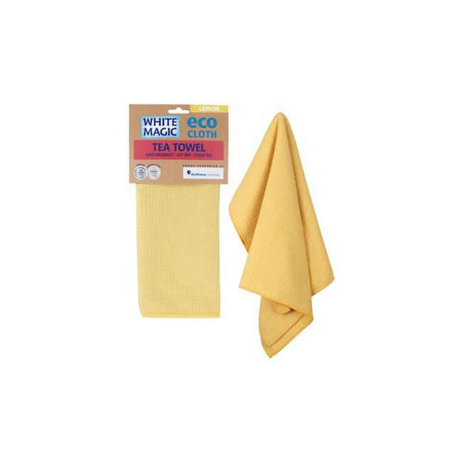 Tea Towel Single - Lemon - 1
