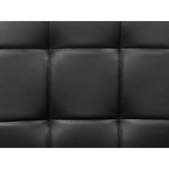 Tucson 2 Seater Sofa - Cocoa, Espresso (Faux Leather) - 12