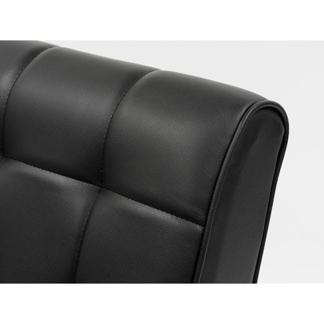 Tucson 2 Seater Sofa - Cocoa, Espresso (Faux Leather) - 11