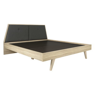 Parker King Wooden Bed - Image 2