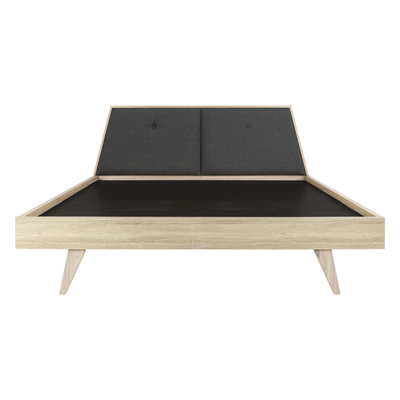 Parker King Wooden Bed - Image 1