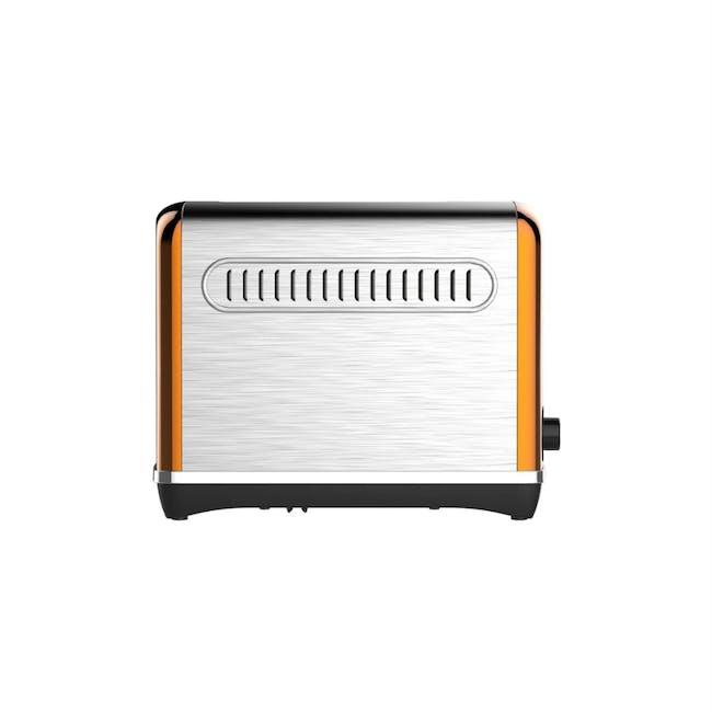 Odette Streamline 2-Slice Bread Toaster - Orange - 2