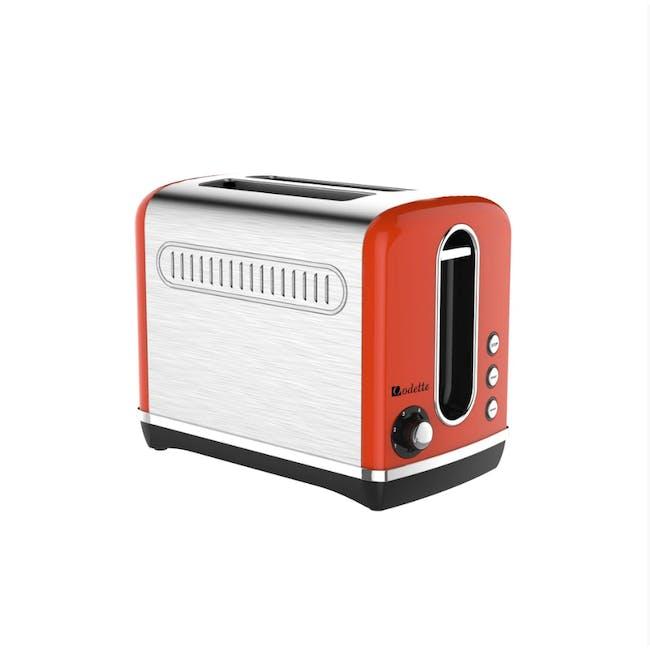 Odette Streamline 2-Slice Bread Toaster - Orange - 1