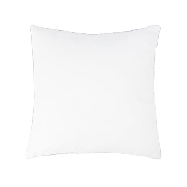 Tammy Large Velvet Cushion - Ivory - 3