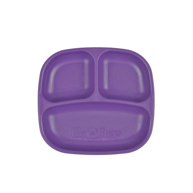 """Re-Play 7"""" Divided Plate - Amethyst - 0"""