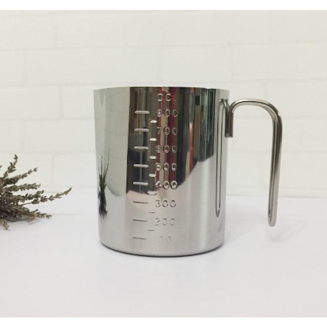 Zebra Stainless Steel Measuring Mug 800Ml - 1