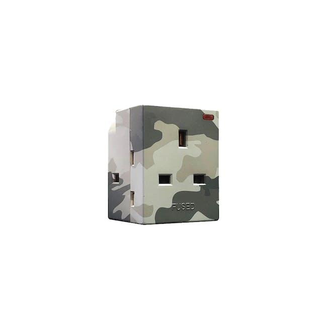SOUNDTEOH Multiway Camouflage Adaptor - Grey - 0