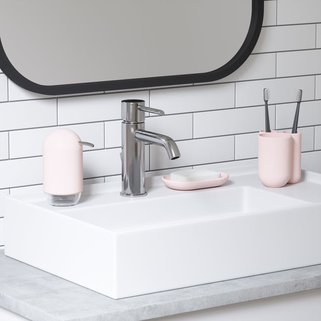 Touch Toothbrush Holder - Blush - 5