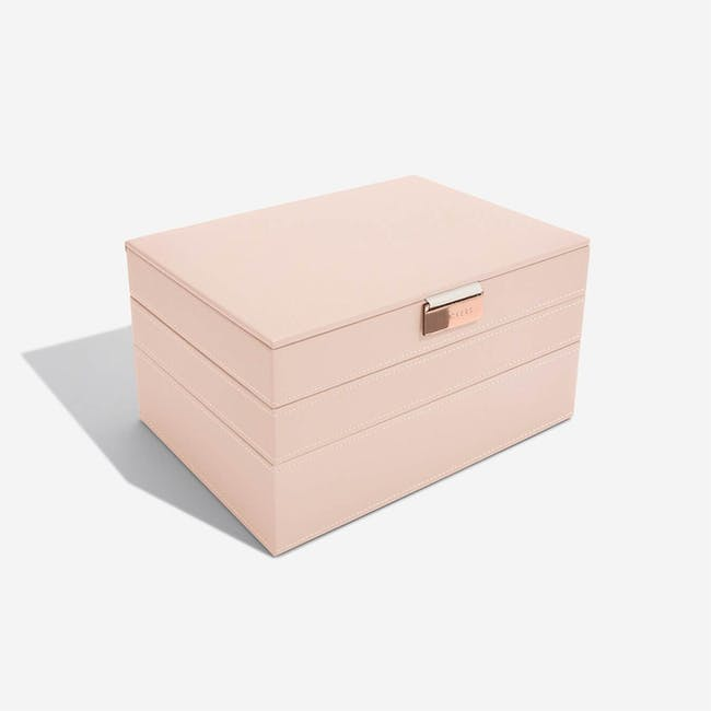 Stackers 3-in-1 Classic Jewellery Box - Blush - 4