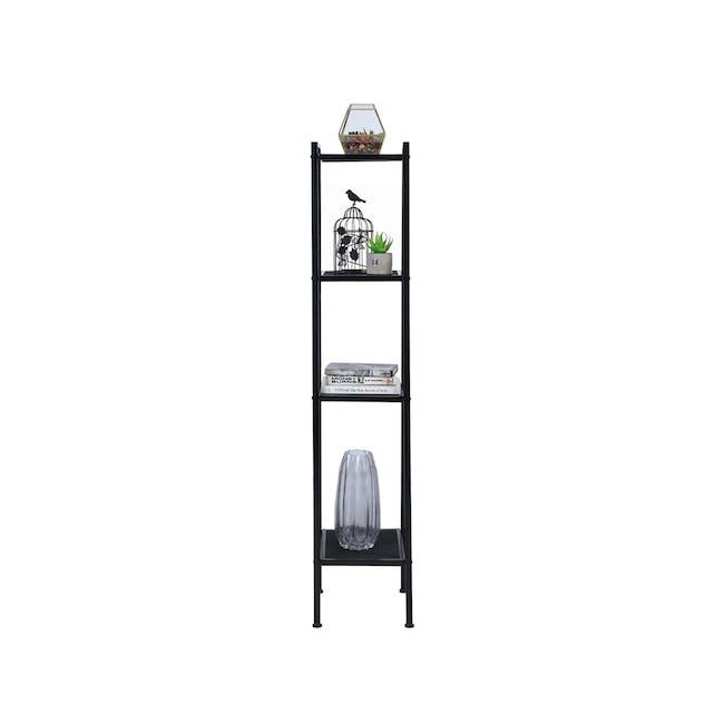 Kingston 4-Tier Shelf 40cm - Black - 3