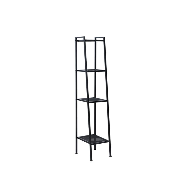 Kingston 4-Tier Shelf 40cm - Black - 2