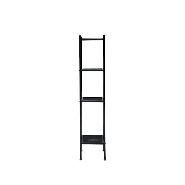 Kingston 4-Tier Shelf 40cm - Black - 0