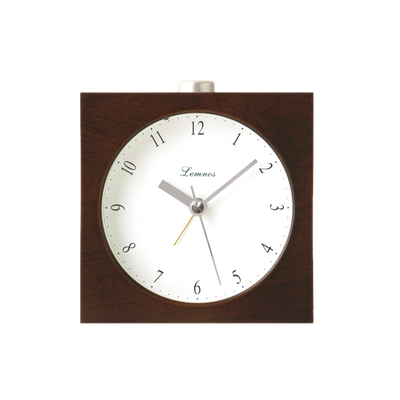 Nocturne Alarm Clock - Brown - Image 1