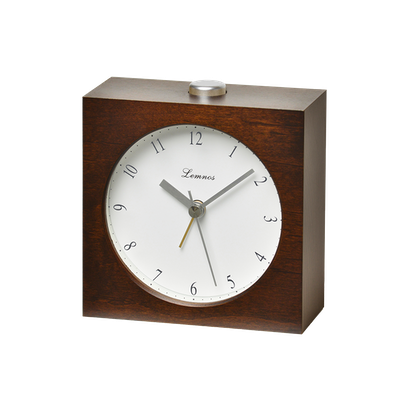 Nocturne Alarm Clock - Brown - Image 2