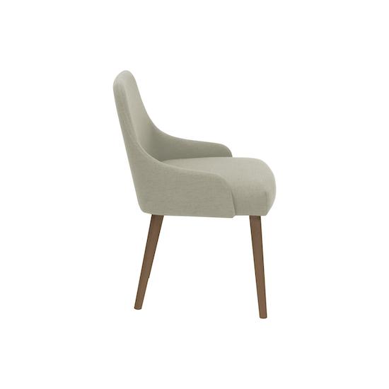 SourceByNet - Loren Dining Chair - Cocoa, Khaki