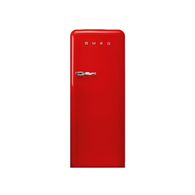 Smeg FAB28 Single-Door Refrigerator - Red - 0