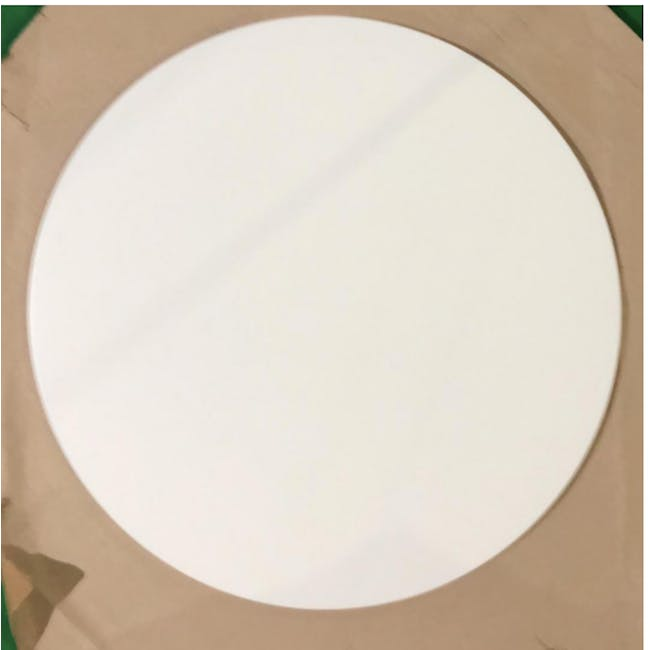 (As-is) Carmen Round Dining Table 1m - White - 14 - 3