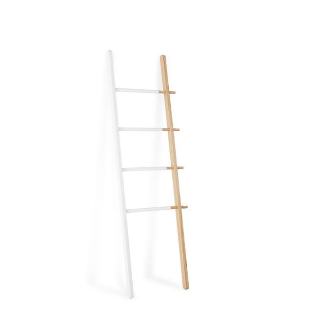 Hub Ladder - White, Natural - 2
