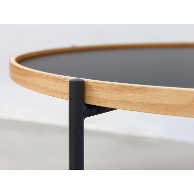 Seifer Coffee Table with Tanix Side Table - 1