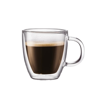 BISTRO Double Wall Mug with Handle (Set of 2) - Image 1