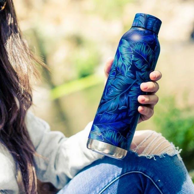 Quokka Stainless Steel Bottle Solid - Deep Jungle 630ml - 3