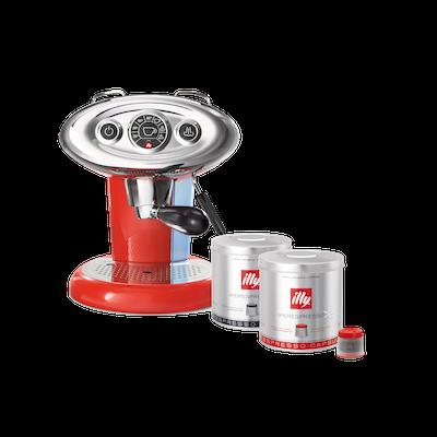 illy X7.1 iperEspresso Coffee Machine - Red - Image 1