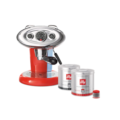 illy X7.1 iperEspresso Coffee Machine - Red